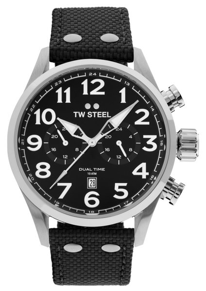 TW Steel TW Steel VS8 Volante dual-time watch 48mm