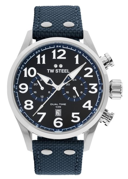TW Steel TW Steel VS38 Volante dual-time watch 48mm