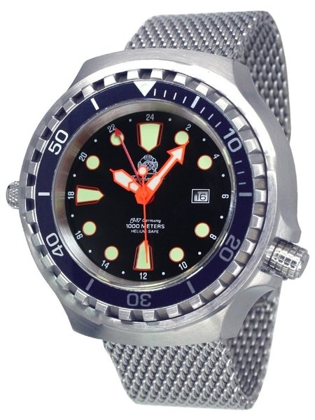 Tauchmeister Tauchmeister T0278MIL XXL diver watch 100ATM