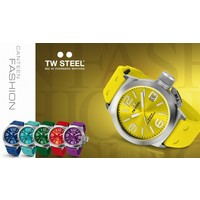 TW Steel TW Steel TW520 Canteen Fashion watch yellow 45 mm DEMO