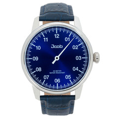 Jcob Einzeiger JCW003-LS03 one hand watch blue