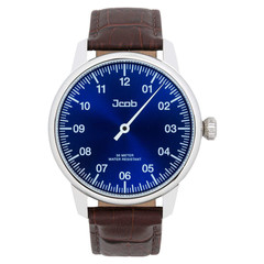 Jcob Einzeiger JCW003-LS01 one hand watch blue