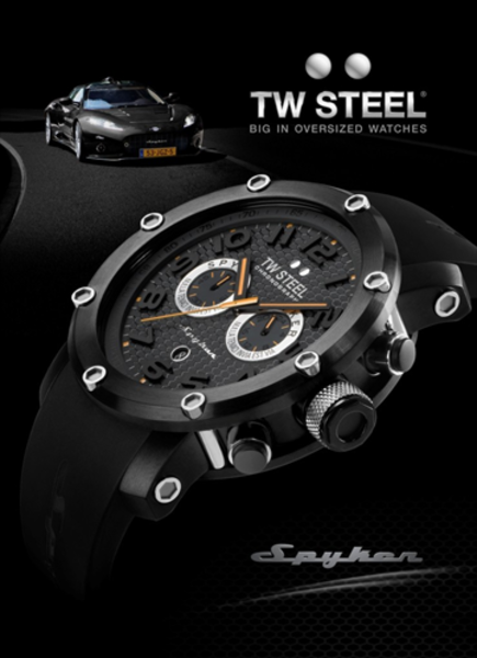 TW Steel TW Steel Tech Spyker Chronograph watch 50mm TW669 DEMO