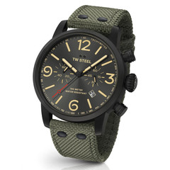 TW Steel MS124 Maverick chronograph watch 48mm