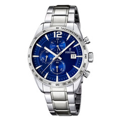 Festina F16759/3 chronograph watch 44 mm