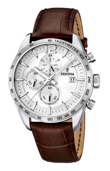 Festina Festina F16760/1 chronograph men's watch 44 mm