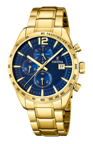 Festina Festina F20266/2 chronograph watch 44 mm