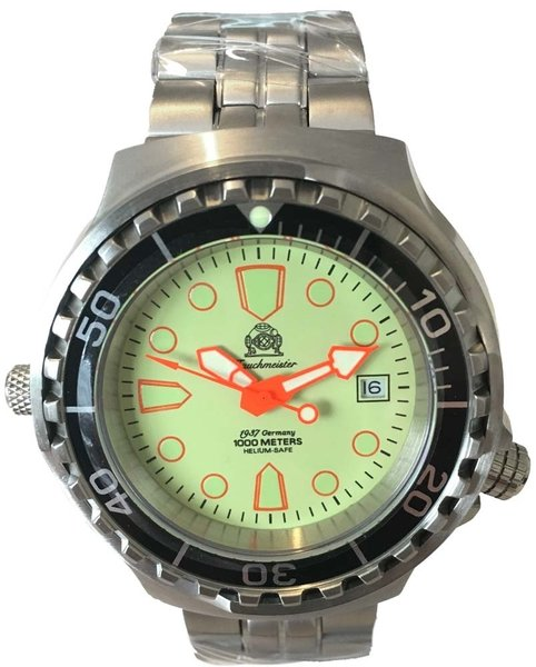 Tauchmeister Tauchmeister Profi diver watch 1000m T0228M