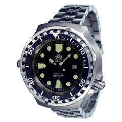 Tauchmeister T0265M XL divers watch 100 ATM