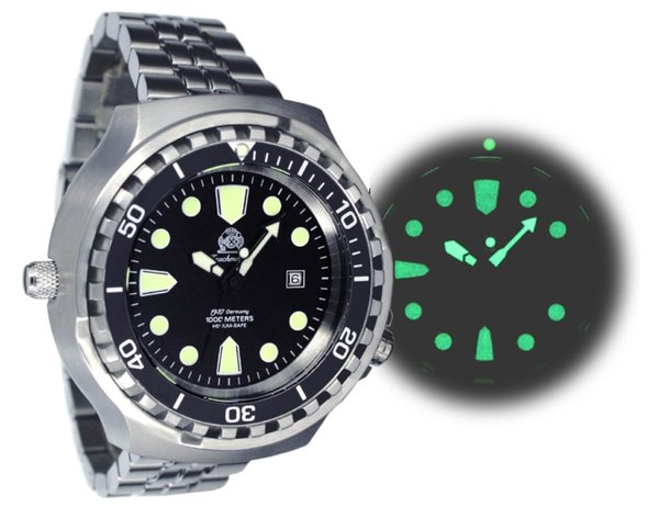 Tauchmeister Tauchmeister T0265M XL divers watch 100 ATM