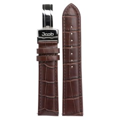 Jcob Einzeiger JCS-LS01 leather watch strap brown