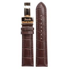 Jcob Einzeiger JCS-LR01 leather watch strap brown