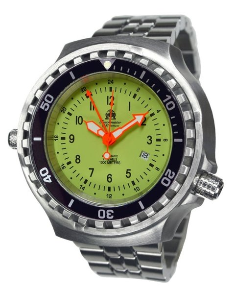 Tauchmeister Tauchmeister T0313M diver watch with automatic movement 52mm
