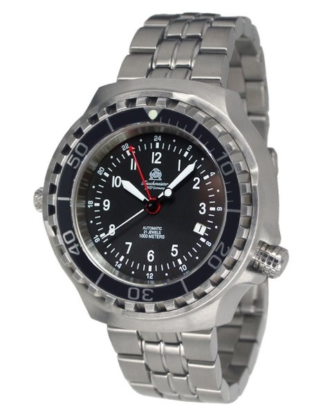 Tauchmeister Tauchmeister T0312M diver watch with automatic movement 46mm