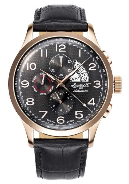 Ingersoll Ingersoll IN1514RBK Duwamish automatic watch 46mm