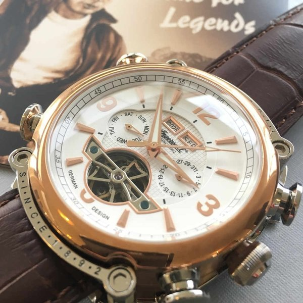 Ingersoll Ingersoll IN4505RWH Montgomery automatic watch 45mm