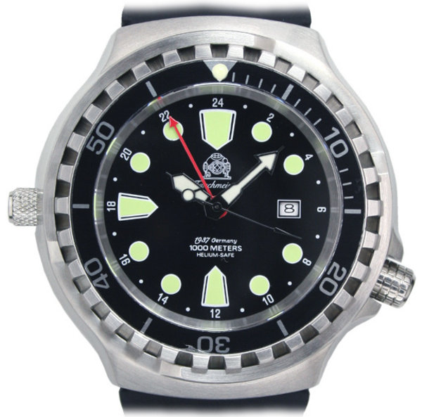 Tauchmeister Tauchmeister T0266 automatic diver XL watch 100 ATM DEMO