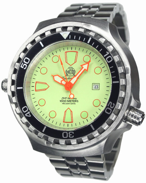 Tauchmeister Tauchmeister T0269M XXL automatic diver watch 100ATM DEMO