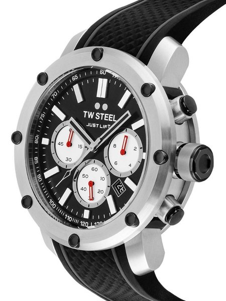 TW Steel TW Steel TS10 Simeon Panda Limited Edition Men's Watch 48mm