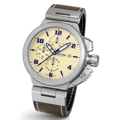 TW Steel ACE202 Spitfire Swiss Made Automatik chronograph Herren Uhr 46 mm