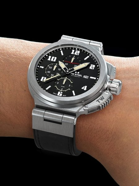 TW Steel TW Steel ACE204 Spitfire Swiss Made automatic chronograph 46 mm Men's Watch