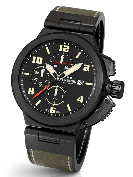 TW Steel TW Steel ACE205 Spitfire Swiss Made automatic chronograph 46 mm Men's Watch