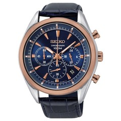 Seiko SSB160P1 Chronograph men's watch 44 mm