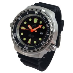 Tauchmeister T0300 quartz diver watch 52mm