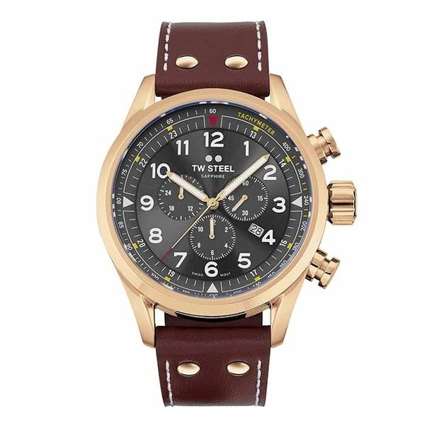 TW Steel TW Steel Swiss Volante SVS203 chronograph watch 48mm