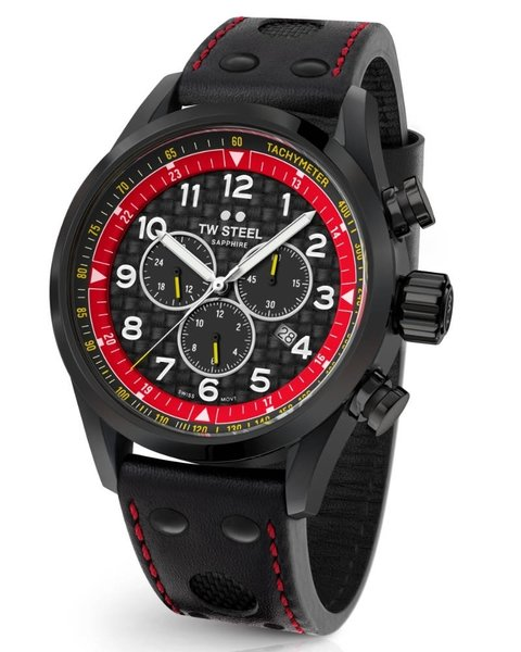 TW Steel TW Steel Swiss Volante SVS303 TCR Special Edition chronograph watch 48mm