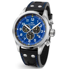 TW Steel Swiss Volante SVS305 Petter Solberg Edition chronograph watch 48mm