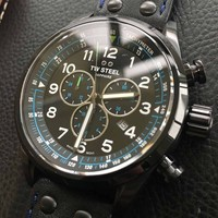 TW Steel TW Steel Swiss Volante SVS306 Petter Solberg Edition chronograph watch 48mm