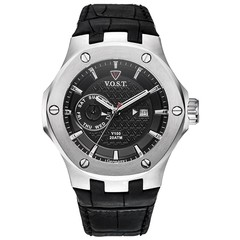 V.O.S.T. Germany V100.004 Steel multifunction mens watch 44mm