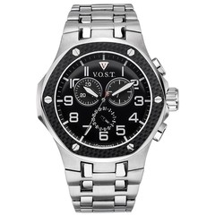 V.O.S.T. Germany V100.007 Carbon chrono mens watch 44mm