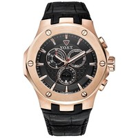 V.O.S.T. Germany V.O.S.T. Germany V100.012 Rosegold Steel chrono mens watch 44mm