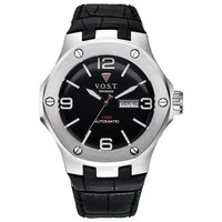 V.O.S.T. Germany V.O.S.T. Germany V100.015 Steel automatic mens watch 44mm