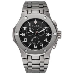 V.O.S.T. Germany V100.018 Titanium chrono mens watch 44mm