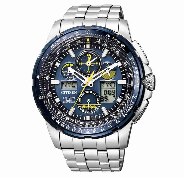 Citizen Citizen Promaster JY8058-50L Sky Eco-Drive Radio Controlled mens watch 49 mm