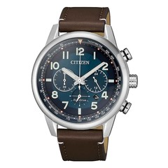 Citizen CA4420-13L chronograph Eco-Drive men's watch 43 mm