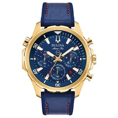 Bulova 97B168 Marine Star Chronograph mens watch 43 mm