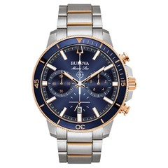 Bulova 98B301 Marine Star Chronograph mens watch 45 mm