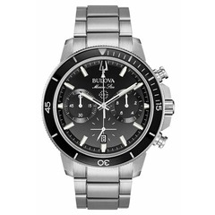Bulova 96B272 Marine Star Chronograph mens watch 45 mm