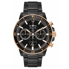 Bulova 98B302 Marine Star Chronograph mens watch 45 mm