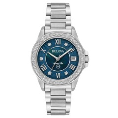 Bulova 96R215 Marine Star Diamond womans watch 32 mm