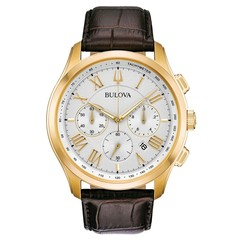 Bulova 97B169 Classic mens watch 46 mm