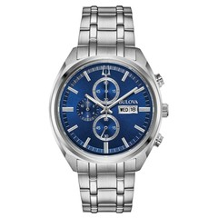 Bulova 96C136 Classic Chronograph mens watch 42 mm