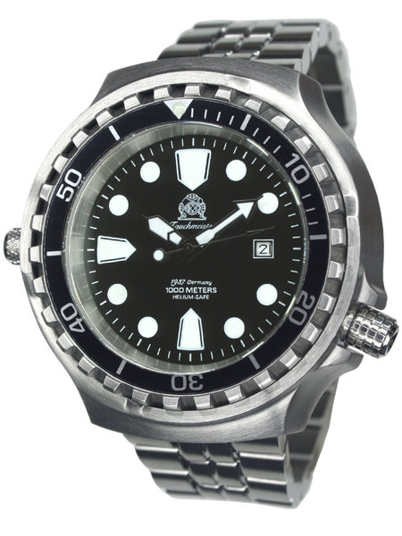 Tauchmeister Tauchmeister T0254M automatic XXL diver watch 100 ATM DEMO