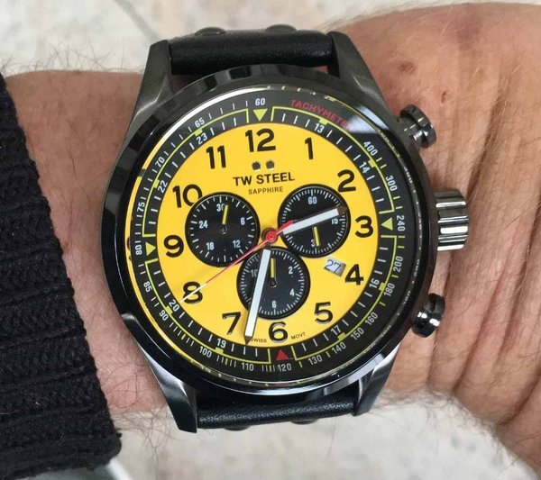 TW Steel TW Steel Swiss Volante SVS302Y WTCR Limited Edition chronograph watch 48mm