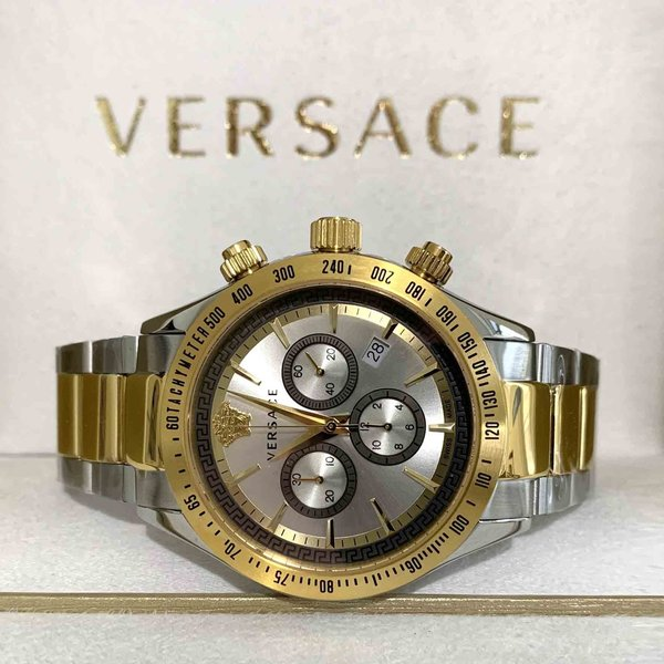 Versace Versace VEV700519 Chrono Classic mens chronograph watch 44 mm