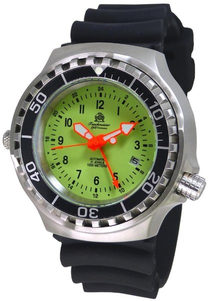 Tauchmeister Tauchmeister T0316 automatic diver watch 46 mm